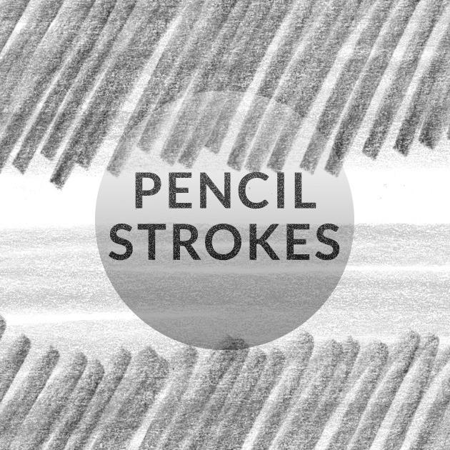 Pencil messy strokes free Photoshop brush set   Creative Nerds