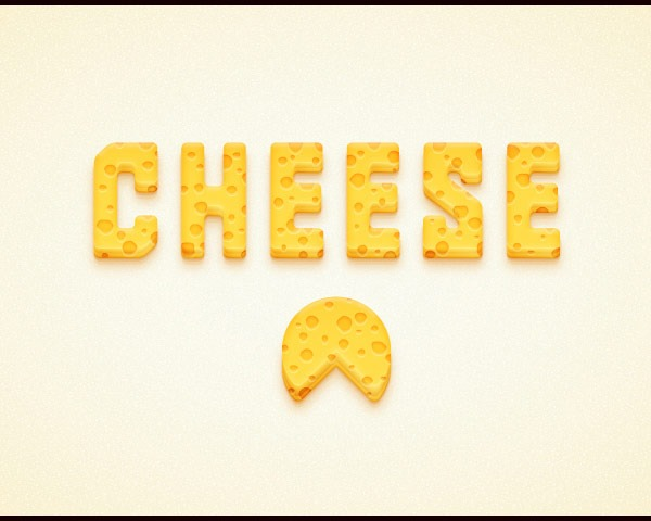 cheese-text-effect