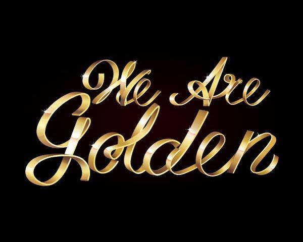 golden-text
