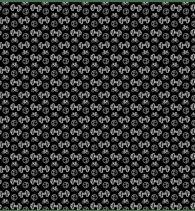 black-gym-pattern