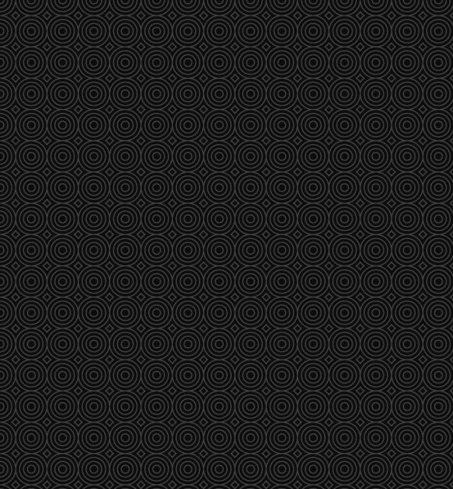 black-mono-circle-pattern