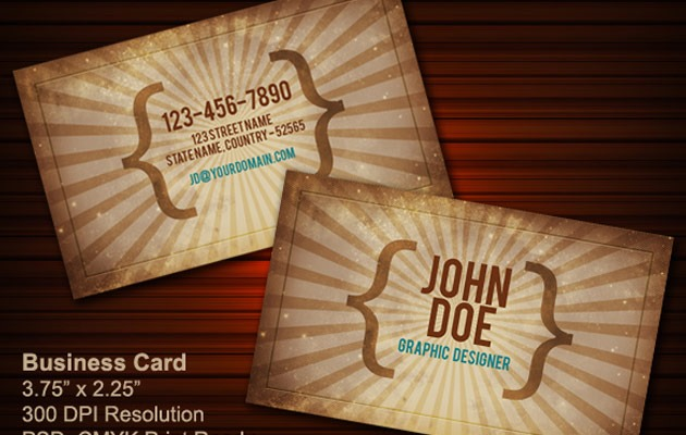 business-cards-vintage