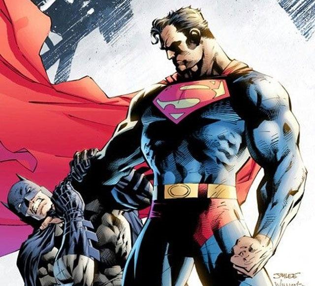super-man-in-batman-clutches