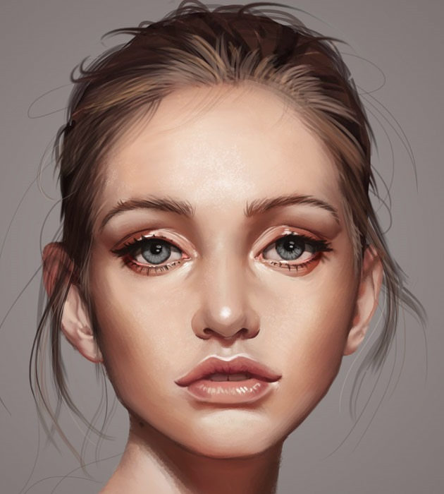 25 Beautiful realistic digital art portraits  Creative Nerds