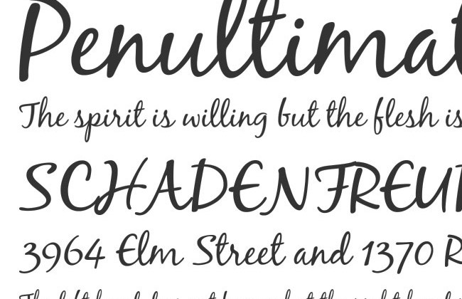 50 free must download Calligraphy fonts | Creative Nerds