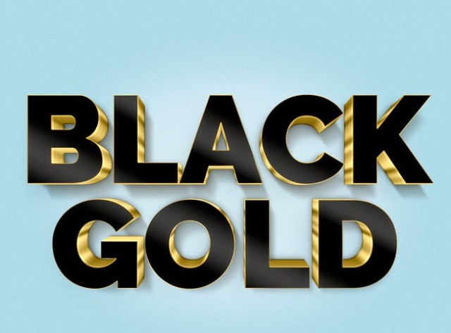 black-gold-text-effect