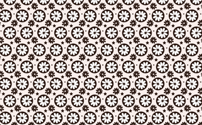 Flower seamless free Photoshop and Vector pattern | Creative