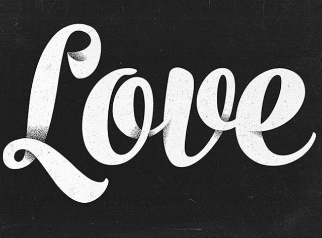 love-text-effect