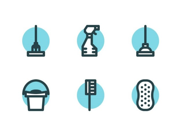 cleaning-icons