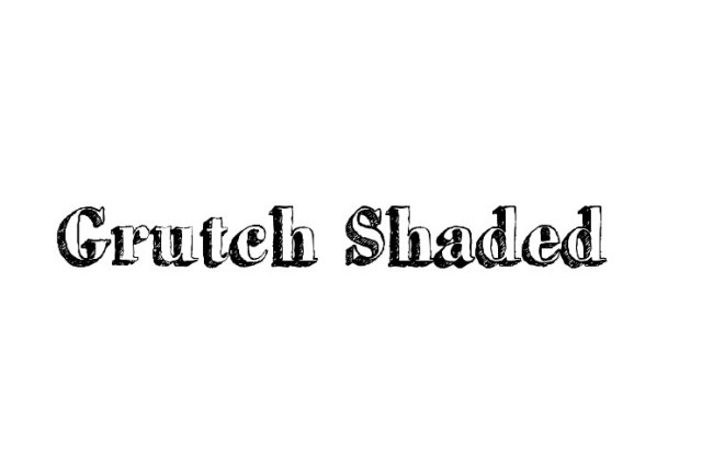 grutch-shaded-free-font