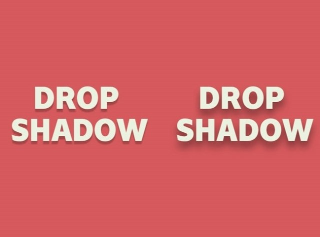 drop-shadow