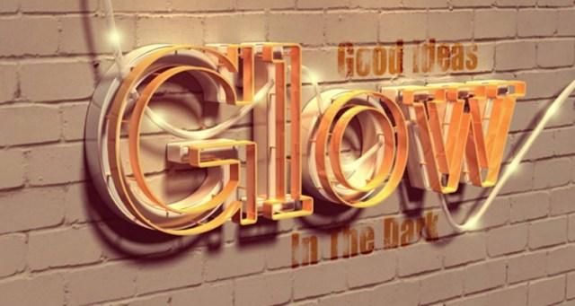 glow-text