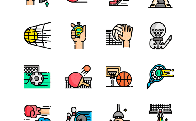 44 free sports icons SVG and PNG | Creative Nerds