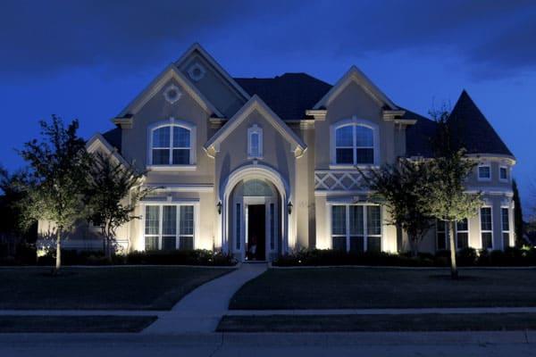 outdoor lighting services in aubrey tx