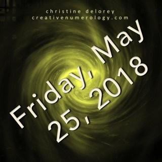 may 25 2018