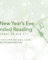 NEW YEAR'S EVE (additional Reading)