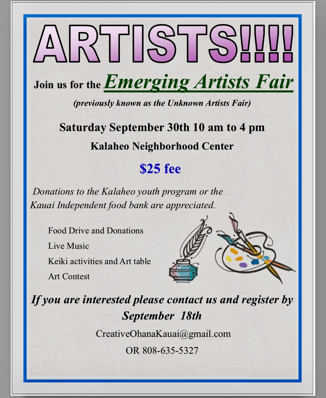 Emerging Artists Fair