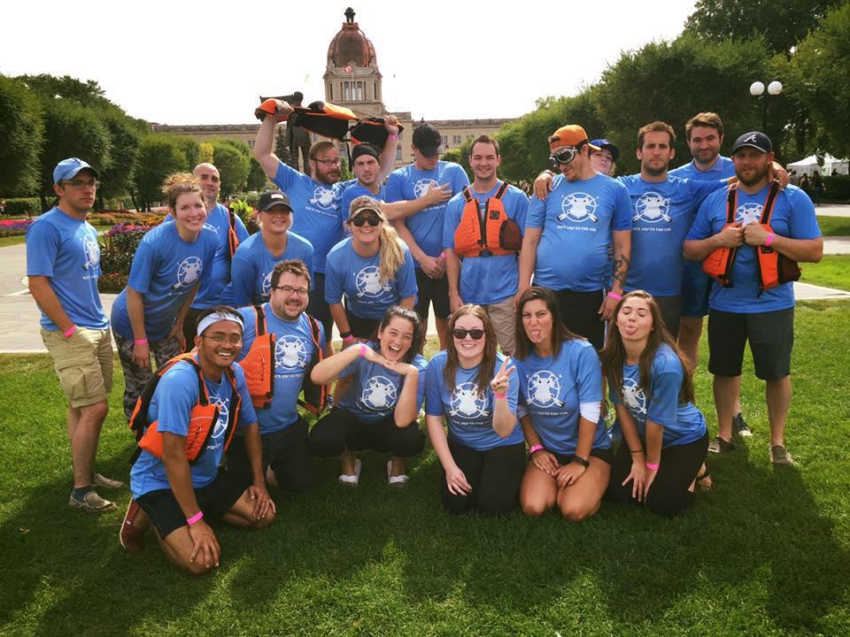COR Dragon Boat Team 2016