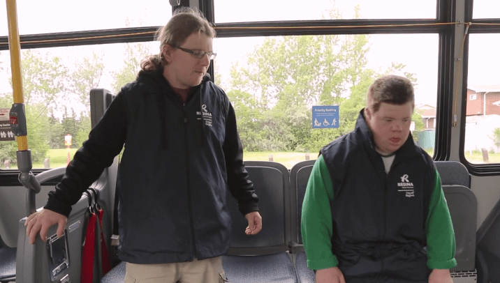 AMI tv feature: Accessible Transit Training in Regina