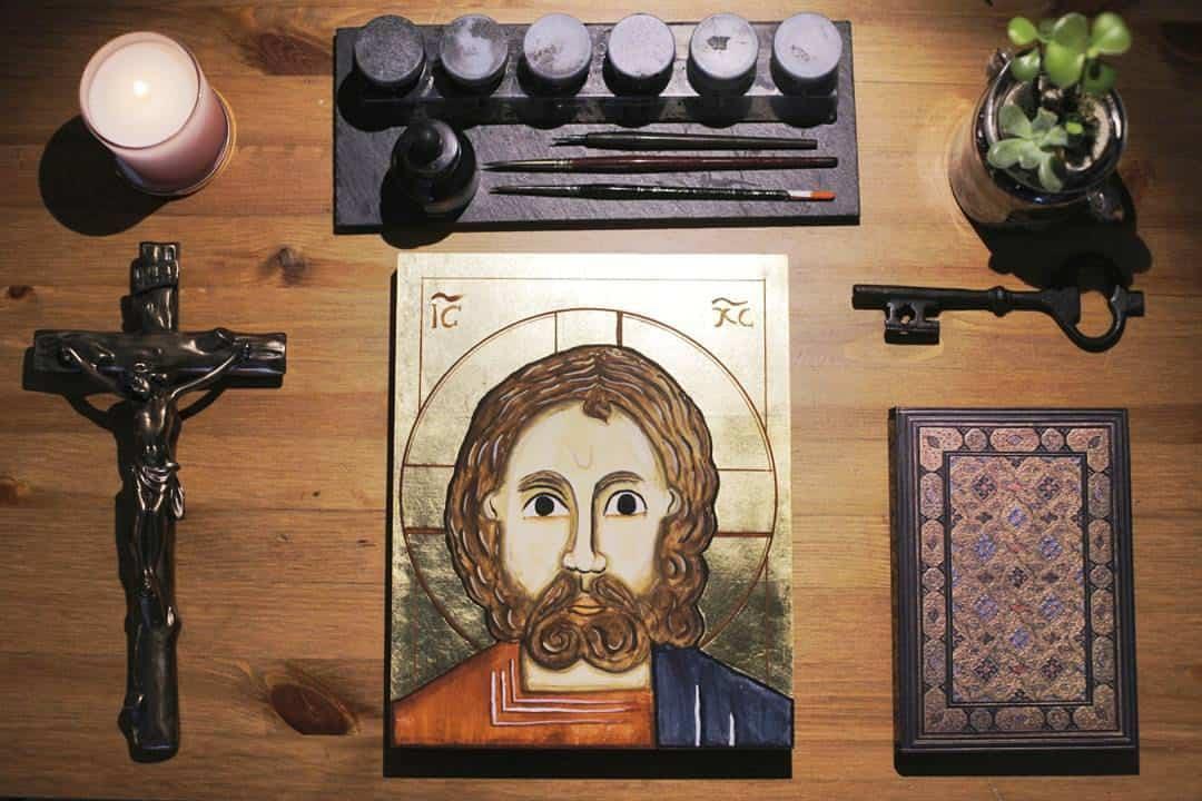 Christ the Pantocrator Orthodox Icon