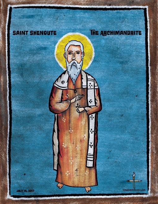 Saint-Shenouda-the-Archimandrite