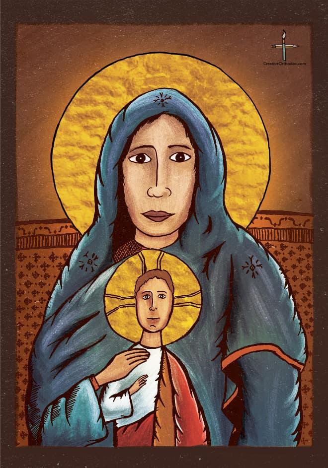The Theotokos & Christ