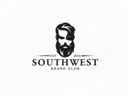 beard & stache logos creativeoverflow