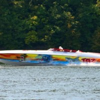 Looney Tunes Boat @ Lake of the Ozarks Shootout