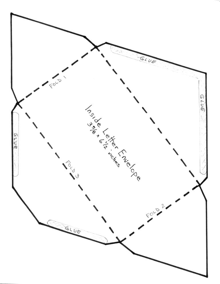 DIY Envelope Template from CreativePhotographyTricks.com