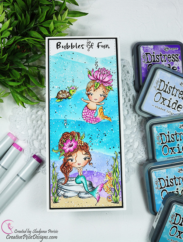 7 Kids Craft Complete Bubble Digi Stamps