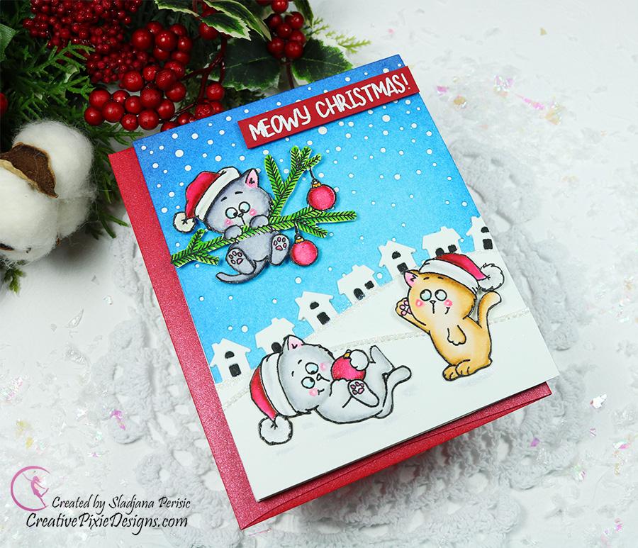 Gerda Steiner Designs Christmas Kitten