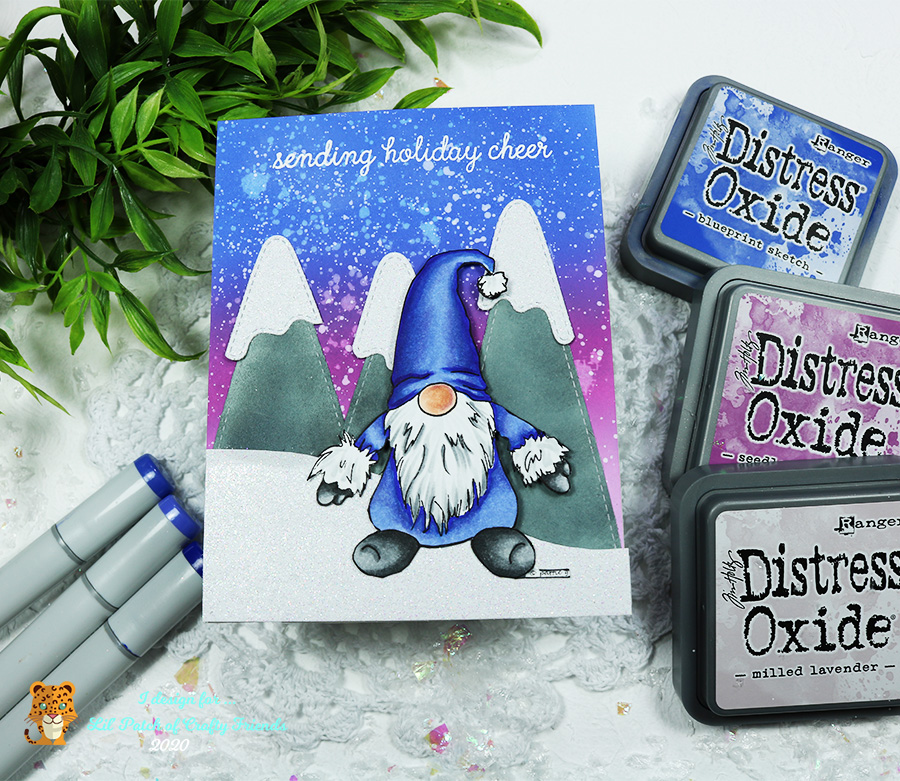 Pattie's Creations Winter Gnome