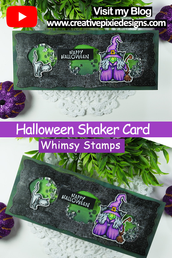 Whimsy Stamps Gnome Witch