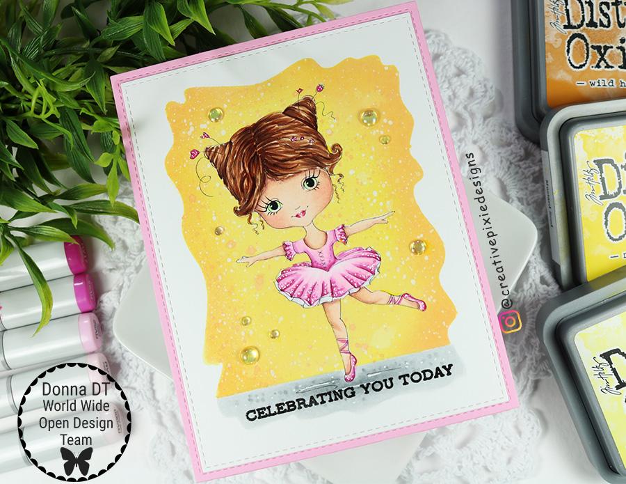 Julia Spiri Little Ballerina