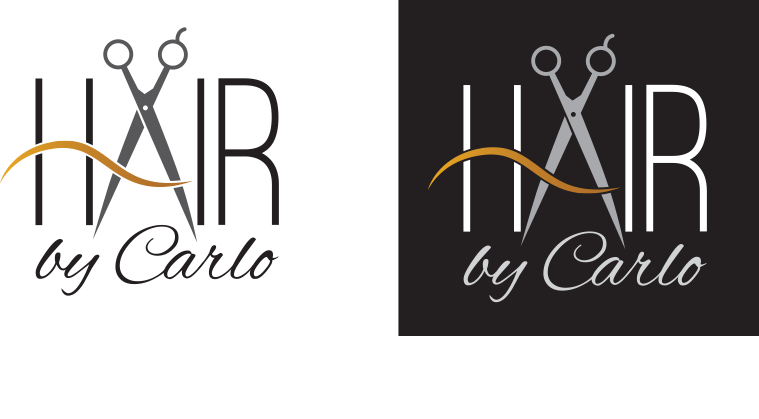 Hair by Carlo - Logos 1