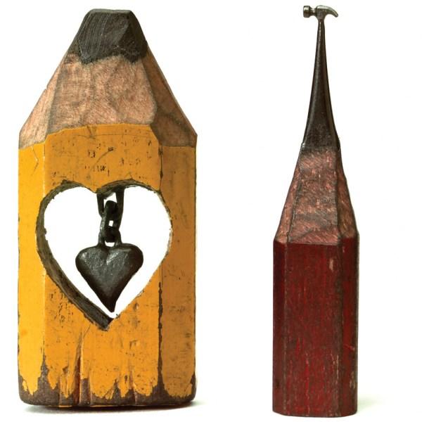 Dalton Ghetti Pencil Sculpture