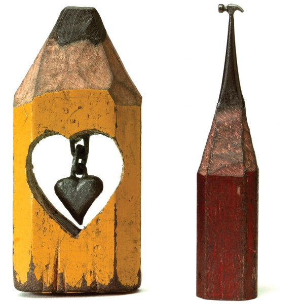 Incredible Lead Pencil Sculptures