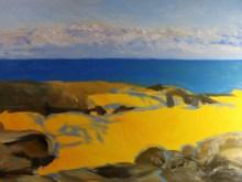 Winter 18 x 24 inch walnut oil on canvas in progress 2by Terrill Welch 2015_11_03 003