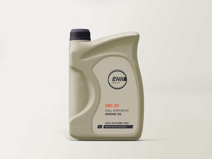Engine Oil Bottle Mockup