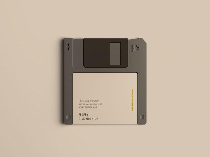 Floppy Disk Mockup