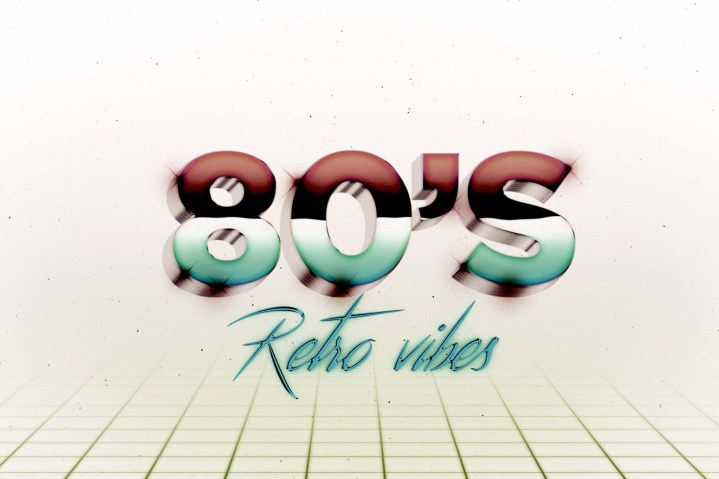 80's Text effect 1