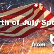 Fourth of July Specials