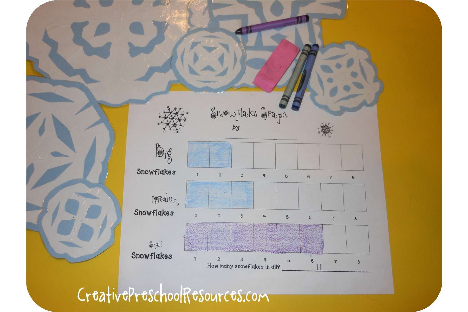 Letter S Snowflake Graph