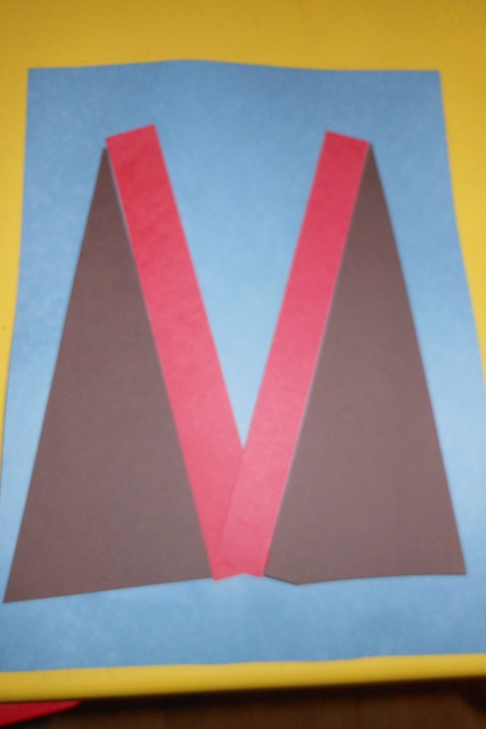 Letter V Volcano  Creative Preschool Resources
