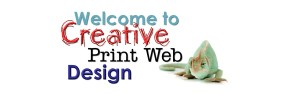 creative print web design-website main banner logo