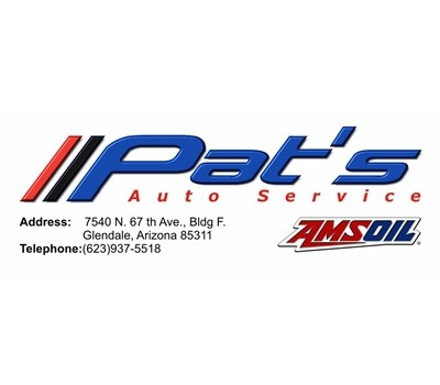 Custom Business Card Design and Printing-Pat's Automotive