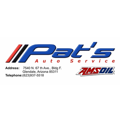 Custom Business Card Design-Pat's Automotive