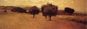 abbati, paesaggio a castiglioncello, 1863, Firenze, Galleria d'Arte Moderna-Palazzo Pitti