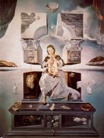dalì, la madonna di porto Lligat, 1950, tokio