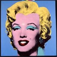 Shot Light Blue Marilyn